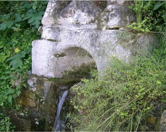 Fuente romana, fuente Pinto